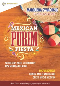 Mexican Purim Fiesta